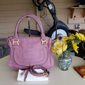 authentic chloe two way bag